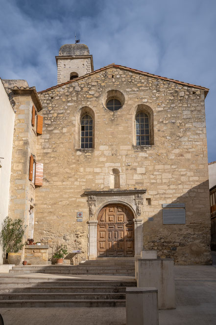 Bild: Boulbon im Bouches du Rhône hier Église Saint-Anne