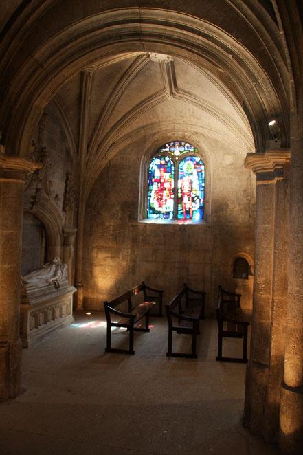 Bild: Église Saint-Vincent in Les Baux de Provence