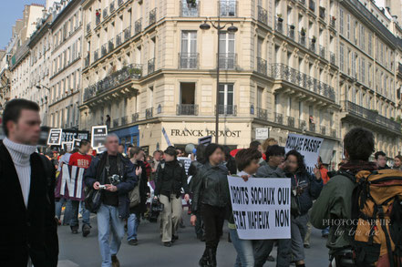 Bild: Streik in Paris