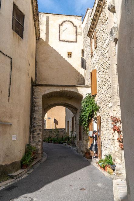 Bild: Boulbon im Bouches du Rhône hier Porte Loriol