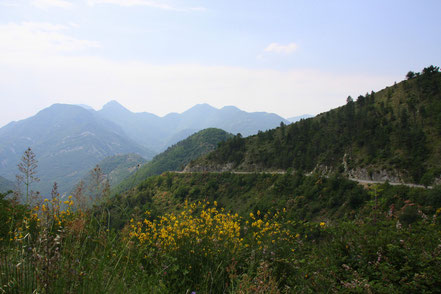Bild: Straße nach Sospel