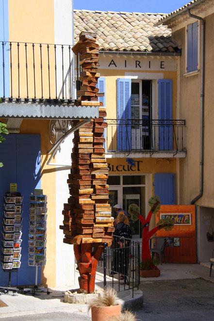Bild: Buchladen in Banon