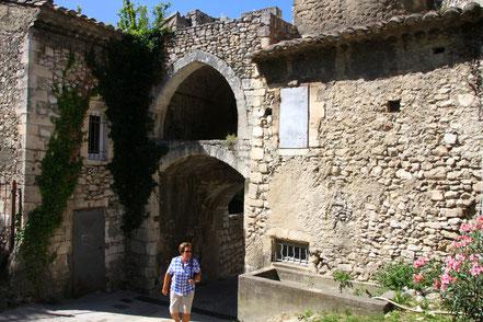Bild: Porte de l´Hortet in Orgon