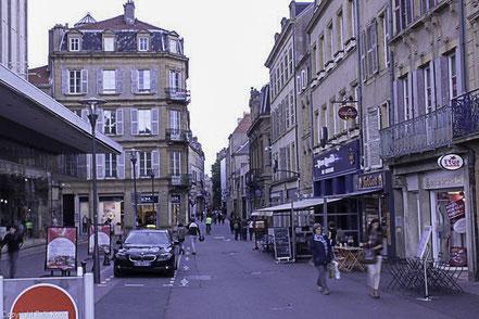Bild: In der Innenstadt von Metz