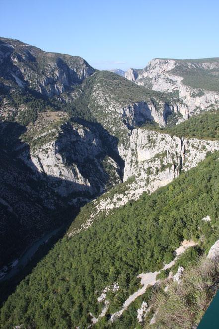 Bild: Verdonschlucht oder auch Gran Canyon du Verdon oder Gorges du Verdon