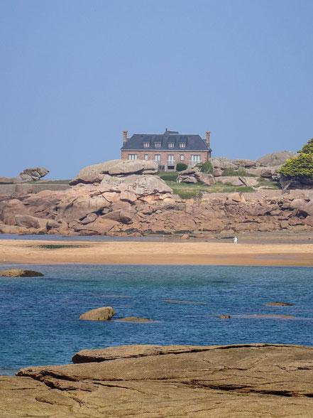 Bild: Trégastel in der Bretagne