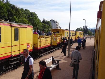 Bild: Le petit train jaune