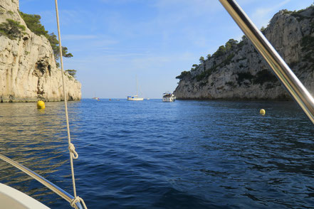 Bild: Calanques zwischen Cassis und Marseille