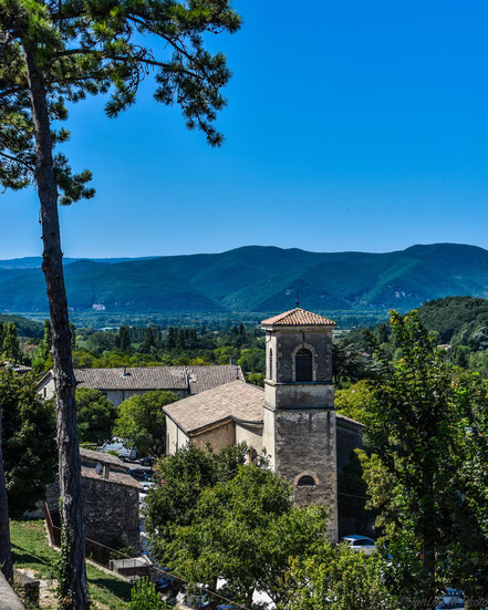 Bild: Église Saint-Pierre in Mirmande, Drôme