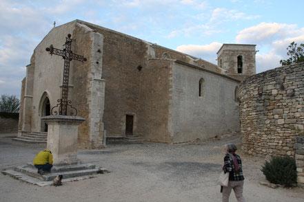 Bild: Église Saint-Luc, Ménerbes im Vaucluse