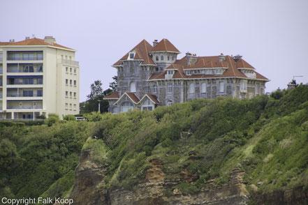 Bild: Alte Villa in Biarritz