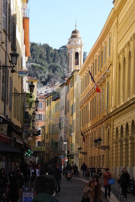 Bild: in der Altstadt von Nice