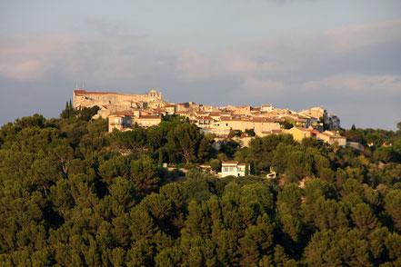 Bild: Blick auf La Castellet von La Cadière d´Azur
