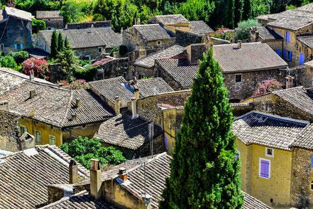 Bild: Saint-Montan im Département Ardèche