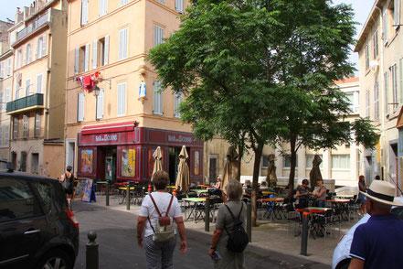 Bild: Panier-Viertel in Marseille