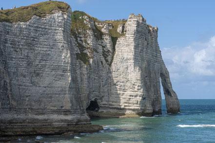 Bild: Felsenküste Étretat, Porte d´Aval