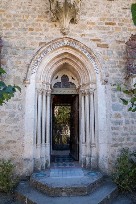Bild: Nyons mit Chapelle Notre-Dame de Bon-Secour im Département Drôme