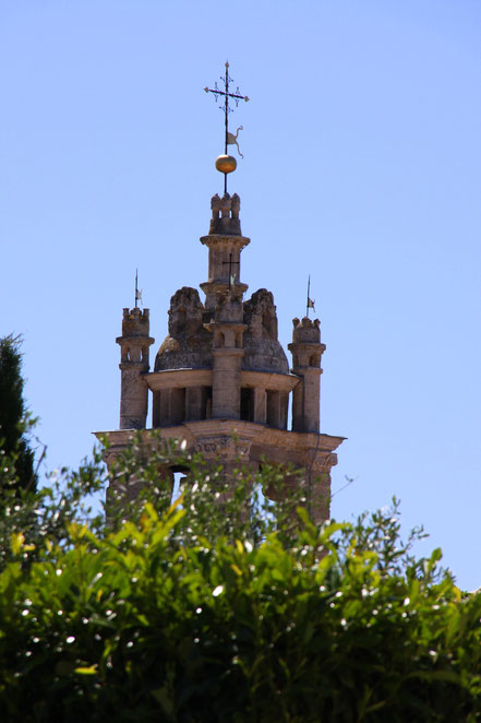 Bild: Belfried, Glockenturm in Cucuron, Vaucluse, Provence