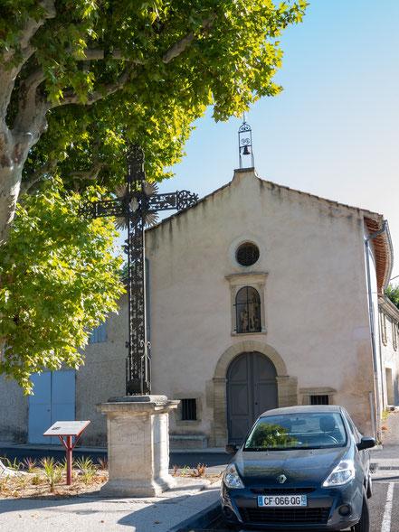 Bild: Mazan im Vaucluse hier Chapelle Saint-Roch