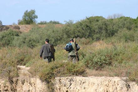 Bild: Jäger in der Camargue, Provence