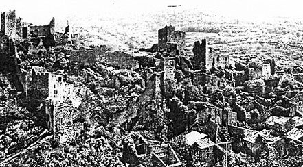 So sah es 1970 vor dem Wiederaufbau aus