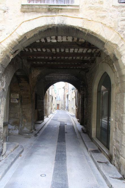 Bild: Altstadt von Caromb