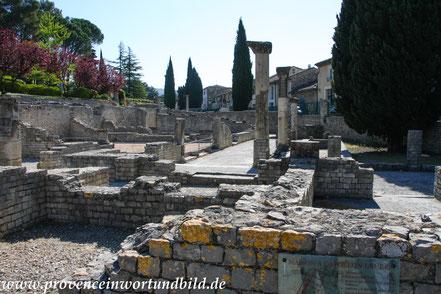 Bild: Vaison-La-Romaine, römische Ausgrabungen