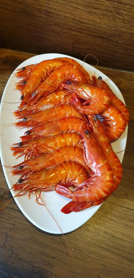 Bild: Rezept für Crevettes sauvage au Sauce Curry-Coco ( pikant)