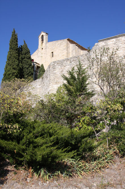 Bild: Kirche in Le Barroux