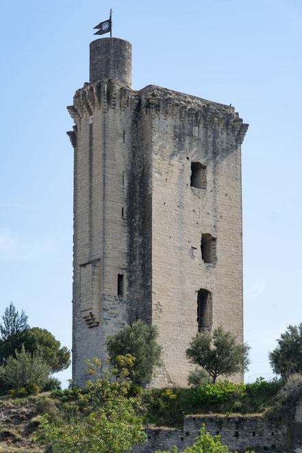 Bild: Tour Anglica in Barbentane, Bouches du Rhône