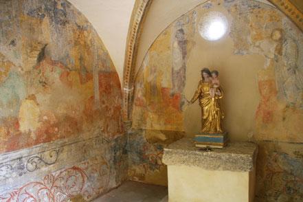 Bild: Kapelle der Annuntiatinnen Crestet