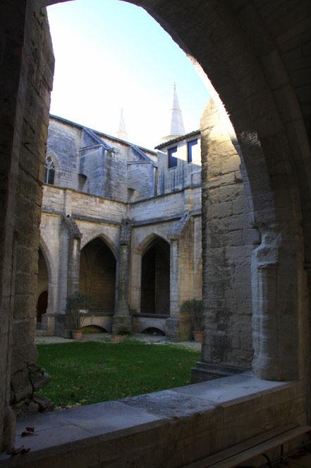 Bild: Villeneuve-lés-Avignon Kreuzgang