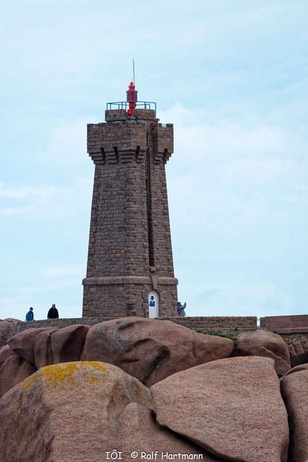 """Bild: Leuchtturm in Ploumanac´h """"Phare de Men Ruz"""""""