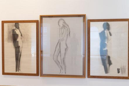 Bild: Akte von Nicolas de Stael im Musée Picasso in Antibes