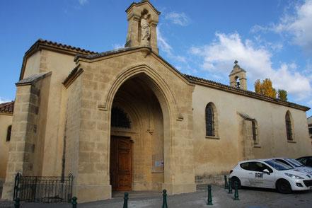 Bild: Kirche Saint Pierre in Jouques
