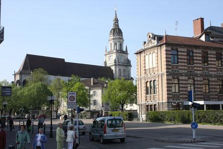 Bild: Kirche Notre Dame in Bourg-en-Bresse