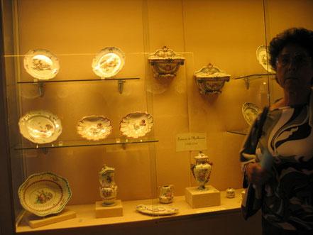Bild: im Museum der Monastére de Brou in Bourg-en-Bresse