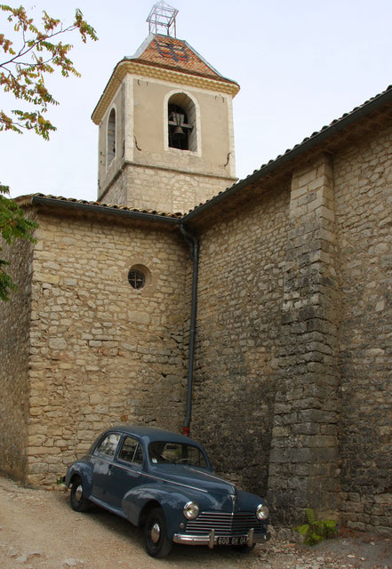 Bild: Eglise St. Marc in Banon