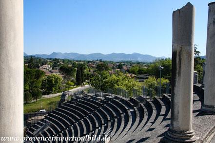 Bild: Römisches Theater in Vaison-la-Romaine