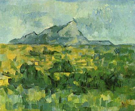 Bild: Saint Victoire wie Cézanne ihn malte.