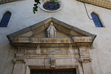 Bild: Pfarrkirche, Montbrun-les-Bains