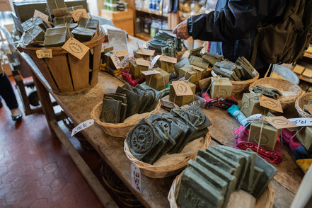 Bild: Verkauf der Savonnerie Marius Fabre in Salon-de-Provence