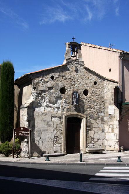 Bild: Kapelle Notre Dame des abszesse in Pernes les Fontaines