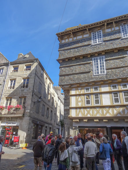 Bild: Altstadt von Quimper in der Bretagne