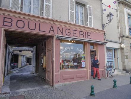 Bild: Boulangerie in Rosscoff
