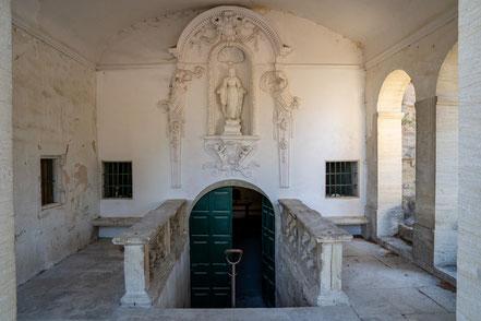 Bild: Mazan mit Chapelle Notre-Dame de Parleloup