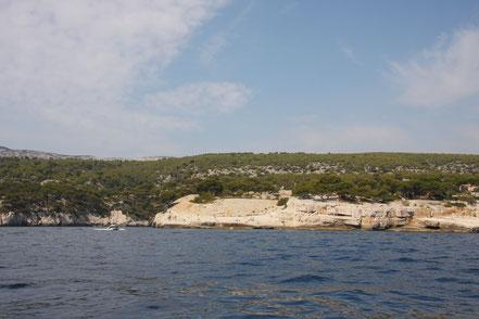 Bild: Einfahrt in Calanque de Port Miou