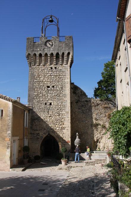 Bild: Tour l´Horloge, Montbrun-les-Bains