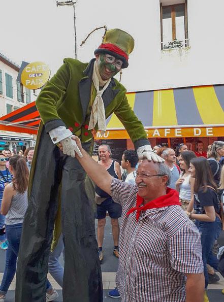 Bild: Altstadtfest in Gruissan