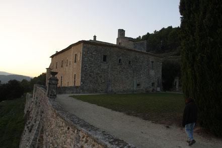 Bild: Abbaye St.-Hilaire bei Ménerbes